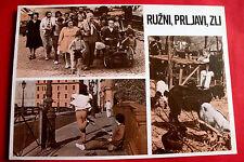 UGLY DIRTY AND BAD 1976 ITALIAN NINO MANFREDI ETTORE SCOLA EXYU MOVIE PROGRAM