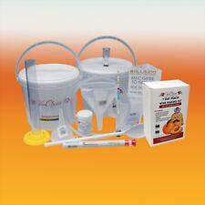 Wine Making Starter Equipment With Peach 6 Bottle Ingredient Kit
