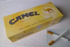 200 Camel King size cigarette papers filter tubes