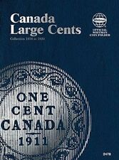 WHITMAN Canada Large Cents 1858-1920 Folder Album #2478