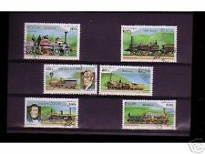0838++LAOS   SERIE TIMBRES TRAINS  N°5