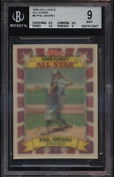 1992 Kellogg's Corn Flakes 3D All Star Phil Niekro Mint BGS 9 Subs 9.5 Braves