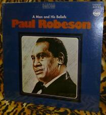 Paul Robeson A Man And His Beliefs LP SEALED Everest 3291