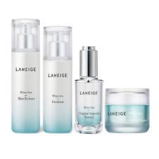 LANEIGE White Dew Skin care Set (Skin Refiner, Emulsion, Essence, Tone up cream)