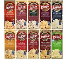 Lot of 10 Pack IDAHOAN Flavored Instant Mashed Potatoes 4oz Each. Ships Fast