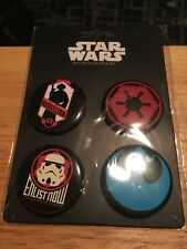Star Wars Buttons - Still in Packaging