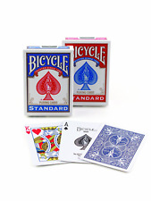 PLAYING CARDS-2 DECK BICYCLE-POKER STANDARD