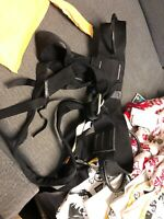 Black Diamond Women's Sit Harness Size Small Medium Belay -Used With Bag