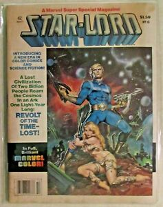 MARVEL SUPER SPECIAL MAGAZINE - ISSUE # 10 - STAR-LORD -1978 - VERY NICE COPY