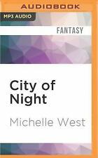 The House War: City of Night 2 by Michelle West (2016, MP3 CD, Unabridged)