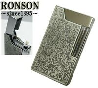RONSON STYLISH DESIGN Cigarette Oil Lighter WORK 26 R26-0012