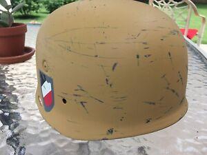 M37 GERMAN WW2 PARATROOPER FALLSCHIRMJAGER HELMET