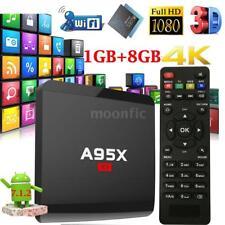 A95X R1 Smart Android 7.1.2 TV Box S905W Quad Core HDR10 1GB+8GB WiFi HD Médias