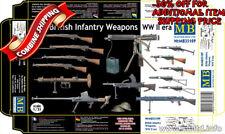 Master Box 35109 British Infantry Weapons, WW II Era plastic model kit 1/35