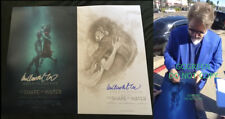 Shape of Water signed poster11x17 photo proof Guillermo Del Toro Deltoro Hellboy