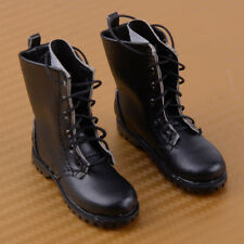 1:6 Scale Black Martin Boots Military Shoes Model For 12 Inch Action Figure Toys