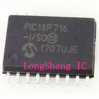 Hot  Sell   2PCS  PIC16F716-I//P   PIC16F716   16F716   DIP-18   Good  quality