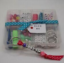Make Your Own Name Keyring Kit.