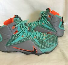 more photos 9a141 c82d7 Nike Lebron 12 James Nike Size 10 Mens Low 12s Emerald Green Shoes