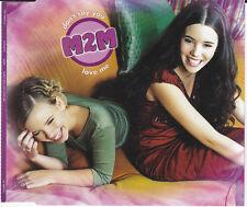 M2M DON'T SAY YOU LOVE ME 3 TRACK ENHANCED CD FREE P&P