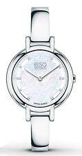 ESQ Movado 07101405 New Women Contempo Diamond Accent Bangle Swiss Quartz Watch