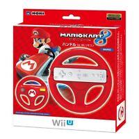 kb09 New Nintendo Wii U Hori Mario kart 8 handle steering wheel controller red