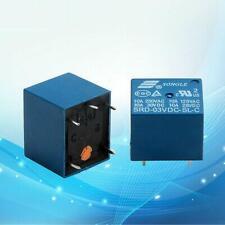 Hot 5Pcs Mini 3V DC SONGLE Power Relay SRD-3VDC-SL-C PCB Type