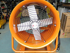 "16"" 400mm shop Air Ventilator dyno fan fume dust odour spray paint extractor"