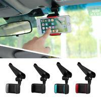 GPS Cradle Extra-firm Clip  Stand Cell Phone Holder  Car Sun Visor Bracket