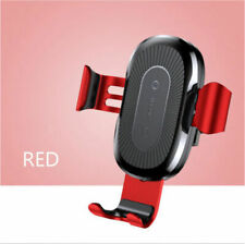 Baseus Qi Wireless Automatic Clamping Fast Car Charger Mount Holder Stand iPhone
