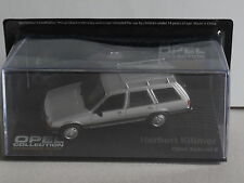 THE OPEL COLLECTION,OPEL REKORD E  SILVER.`HERBERT KILLMER`,mag part works.HH130