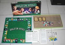 HOLD'EM-OPOLY Editrice Giochi 2011 Texas Poker Monopoly Monopoli Holdemopoly