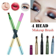 Colorful Portable Multifunction Profession 4 Head Makeup Brush Cosmetics Tool