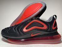 Nike Air Max 720 Mesh Casual Shoes Black University Red CN9833-001 Men SIZE 8-13