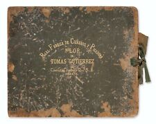 1923-24 Tomas Gutierrez COMPLETE album Oscar Charleston & Pop Lloyd negro league