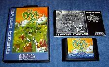 * el rezuman * - juego de Sega Mega Drive-Completo-Pal Version-Raro