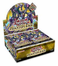 Yu-Gi-Oh! Phantom Rage 1st Edition Sealed Booster Box Of 24 Packs