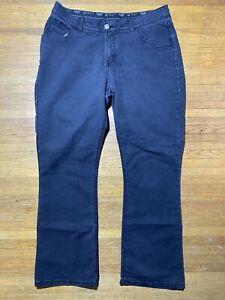 Lee Jeans Comfort Waistband 18W / M Stretch No Gap Black Stretch 38W X 31 L