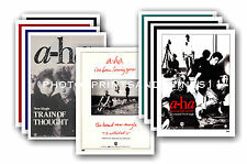 A-Ha  - 10 promotional posters - collectable postcard set # 1