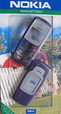 Original Nokia 2100 Xpress-on Front Back Cover 0274135 CC-4D Dark Purple Neu New