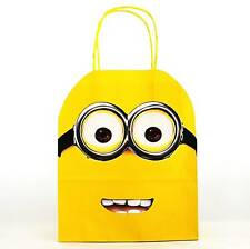 PERSONALISED MINION DESPICABLE ME Party Gift Loot Bags Birthday Minions Movie