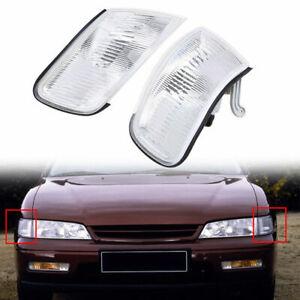 for Honda Accord Sedan DX/EX/LX/V6 EX/V6 LX 1994-1997 Pair Corner Light Housing
