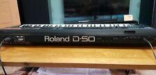 More details for vintage roland d-50 linear synthesizer / keyboard 1987 era.