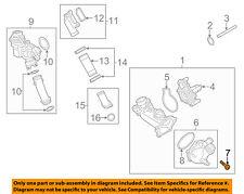 AUDI OEM 14-18 A6 Quattro Water Pump-Thermostat Unit Screw N10700201