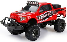Ford F-150 Raptor Truck 1:6 Scale Radio Control RC New Bright LED Lights Red