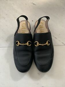 Girls Gucci Princetown Shoes