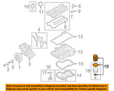BMW OEM 08-18 X6 Engine-Oil Filter 11427583220