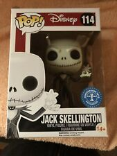 Jack Skellington With Snowflake Funko Pop Vinyl Figure #114 Disney Christmas