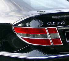 MERCEDES CLC CL203 2008 - 2011 Chrome Rear Light Trim x2