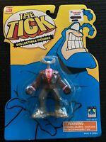 "THE TICK Cartoon TV Show & Comic SUPER HERO 3"" PVC Figure  Bandai 1994 FREE SHIP"